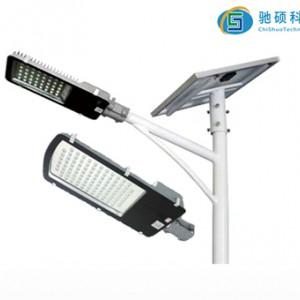 太阳能分体壁挂式太阳能路灯100w