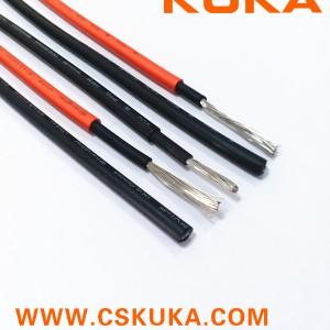 TUV认证光伏电缆PV1-F 4mm厂家直销