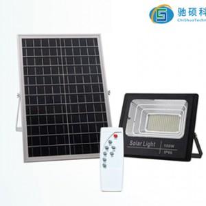 太阳能投光灯100w厂家直销-- 重庆驰硕电子科技股份有限公司