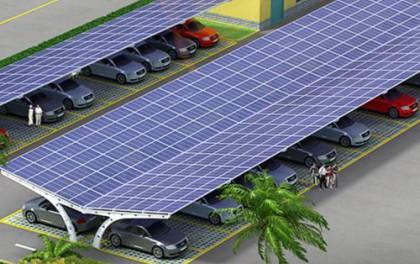 卡塔尔首建光伏充电站以提升环保意识
