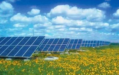 村里装一台光伏发电设备赚钱,非常环保实惠,是不是假的