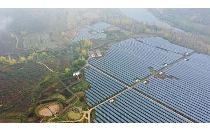 山西岚县普明镇喜签2.3亿元光伏项目