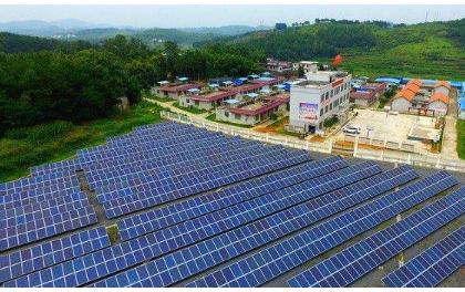 左云县:屋顶光伏帮助贫困户增收