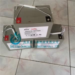 霍克蓄电池AX12-75/12V75AH 原装进口