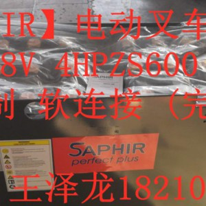 林德E20P叉车电池48V5PZS700 HAWKERP