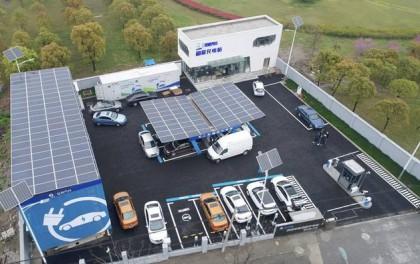 光伏+储能,新能源汽车将实现用阳光充电