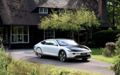 尼德兰一家清洁能源公司发布一款太阳能纯电动车