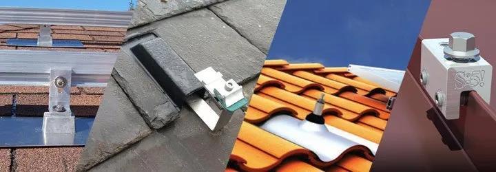 太阳能组件是如何安装在屋顶上的