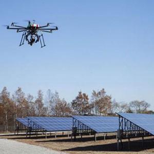 太阳能光伏板巡检无人机检测设备-- 苏州莱科斯新能源科技有限公司