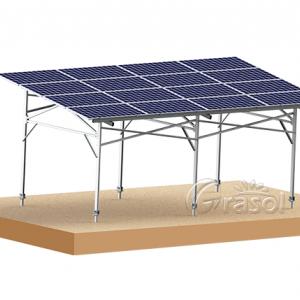农棚支架安装系统-- 厦门格瑞士太阳能科技有限公司