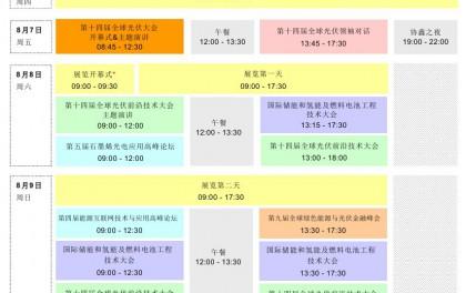 SNEC第十四届(2020)国际太阳能光伏与智慧能源(上海)论坛议程概览