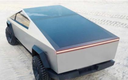 特斯拉Cybertruck或将添加太阳能车顶 续航提升24公里