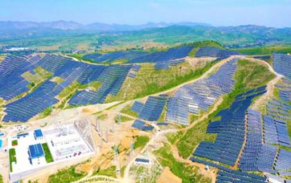中电朝阳500MW平价光伏项目全容量并网