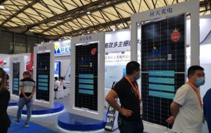 应天光电590W高效组件亮相SNEC展会