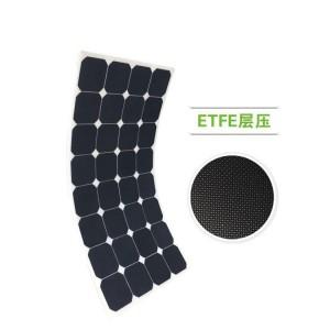 高效sunpower100W太阳能电池板 柔性