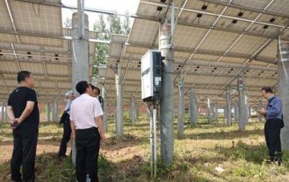 河南平舆县万冢镇多措并举做好光伏电站管护工作