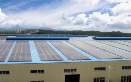 蕉城中学170kWp屋顶分布式光伏项目通过竣工验收