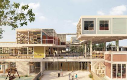 """2020台达杯国际太阳能建筑设计竞赛获奖作品圆""""稚梦"""""""