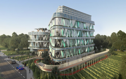 国内最高标准光伏绿色建筑开建