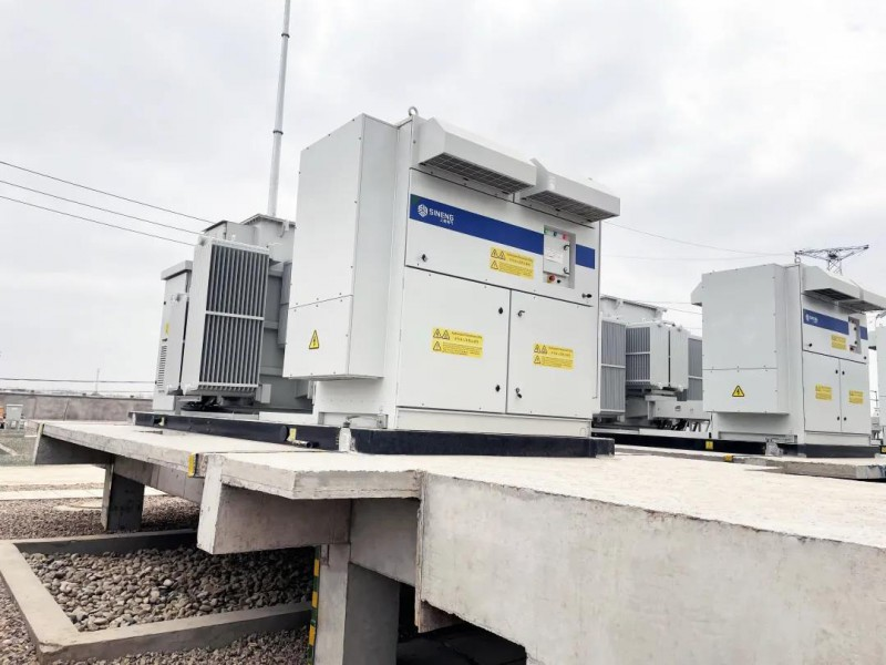 上能电气1500V储能系统解决方案助力远景10MW/10MWh风电储能项目并网