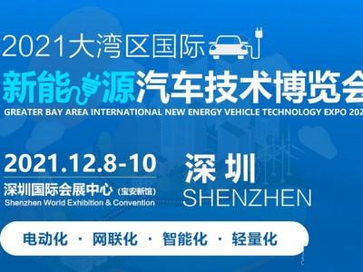 2021第六届中国深圳国际新能源汽车零部件及技术装备展览会