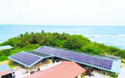 中腾微网成功中标马尔代夫12个岛光柴储微电网项目