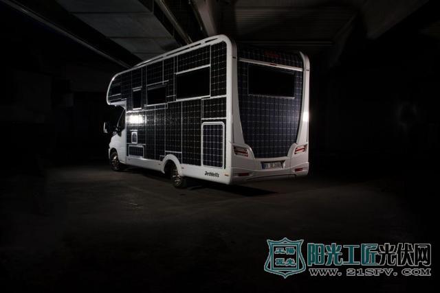 德国公司推出太阳能电动房车适宜野外露营首选