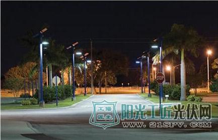 太阳能LED户外照明 设计应用之考虑因素简析及应用实例|行业资讯-江门市百灵电子有限公司